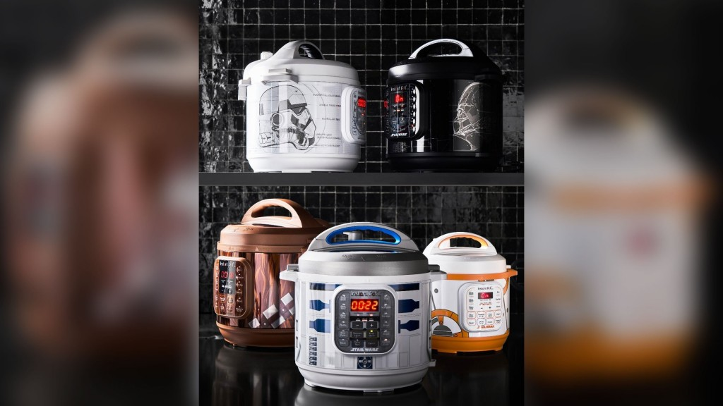 The force is strong with Star Wars Instant Pots