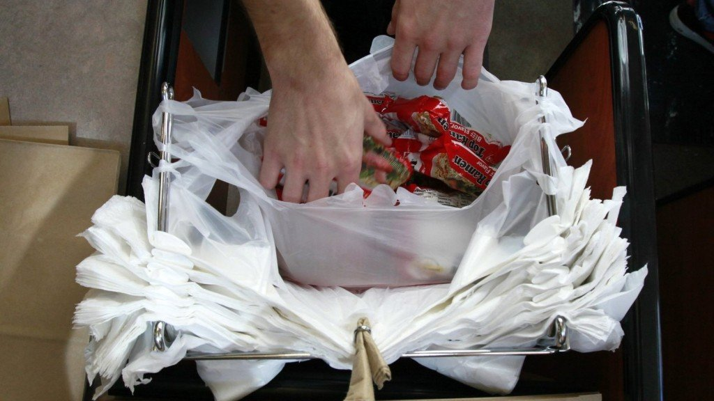 New York expected to become second state to ban single-use plastic bags