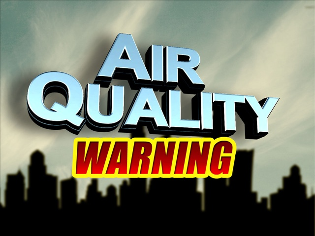 Unhealthy Air Quality Remains