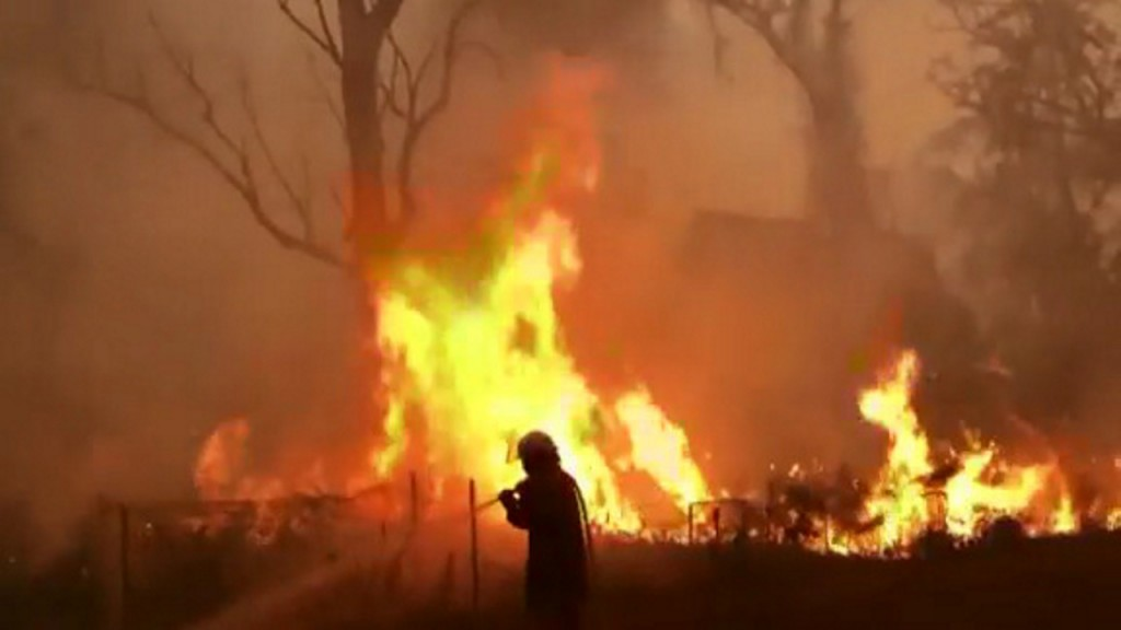 Australia swelters on its hottest day bushfires rage