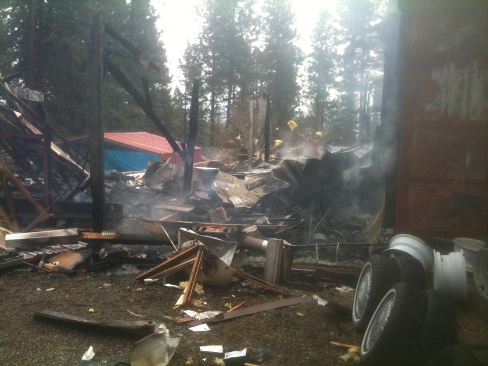 Garage explosion injures woman in Cle Elum