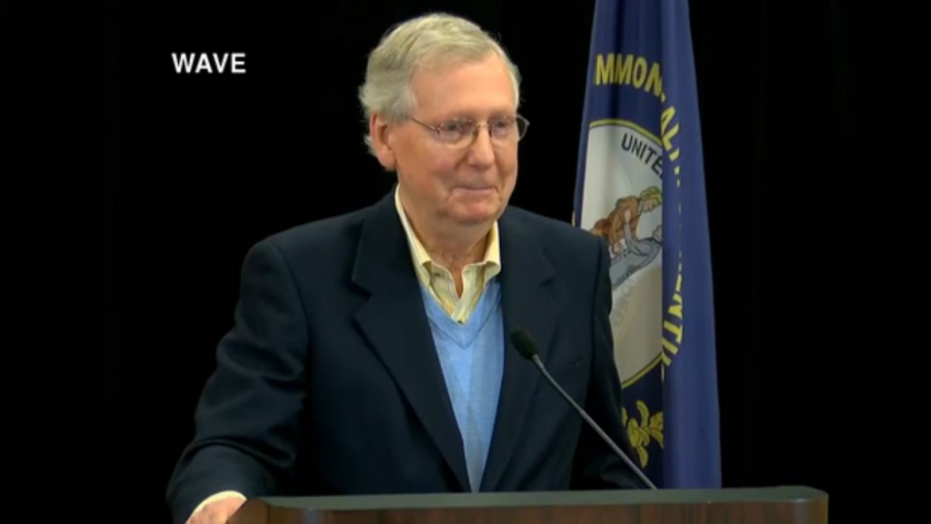 McConnell on midterms: 'The wind is going to be in our face'