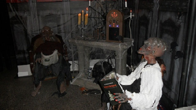 Homemade haunts offer thrills
