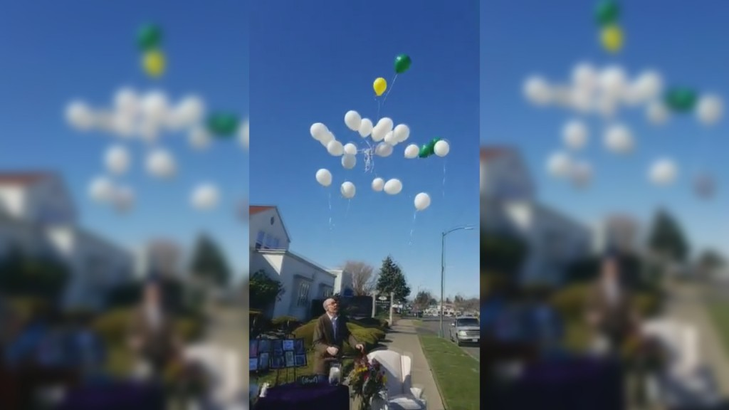 Keith & Keith Funeral Home Balloon Release