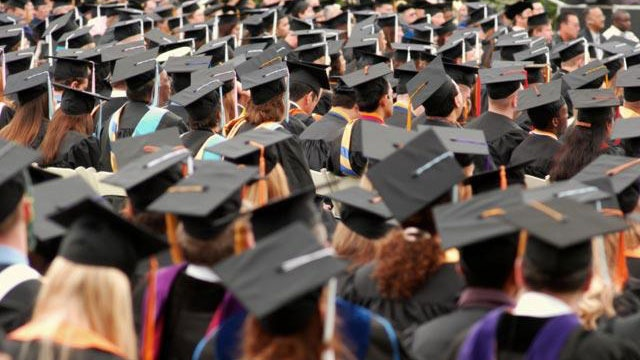 University sorry for saying women should wear low-cut tops to graduation