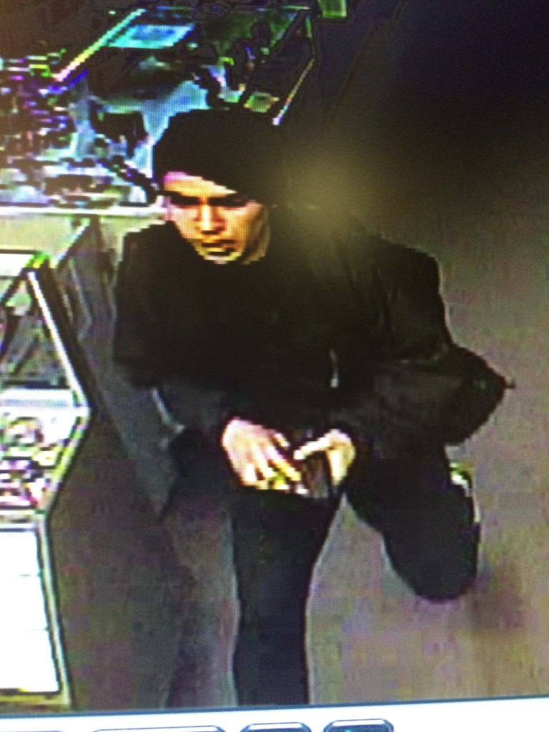Attempted robbery at Yakima Arcade