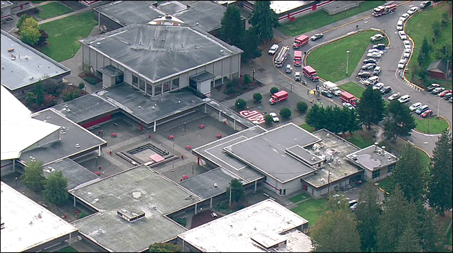 UPDATE: Shooting at Marysville-Pilchuck HS Near Everett
