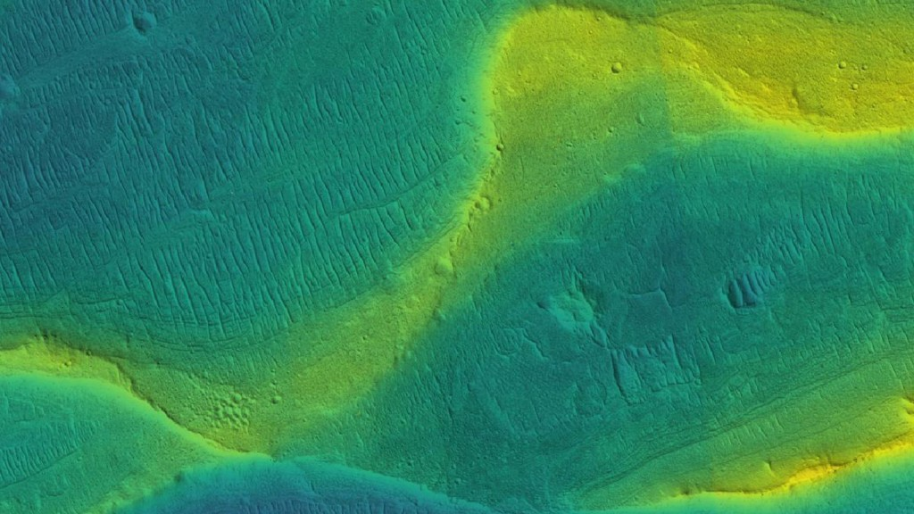 Photos reveal the recent rivers that ran across Mars