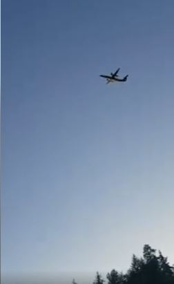Plane stolen from Sea-Tac airport crashes in Puget Sound