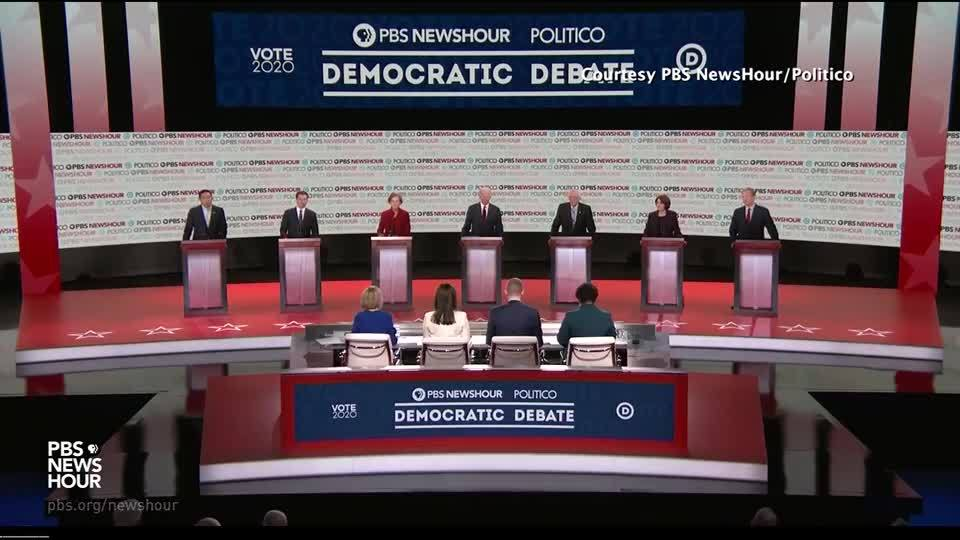 Dems grapple with race, diversity on mostly white debate stage