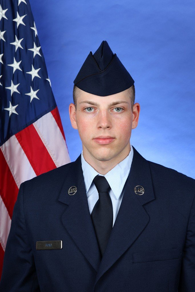 Local Airman from Connell Graduates from Basic Training