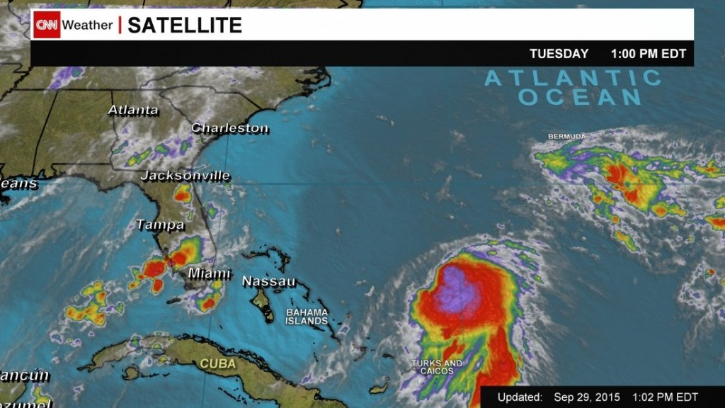 Hurricane Joaquin poised to hit Bahamas, could target U.S. next