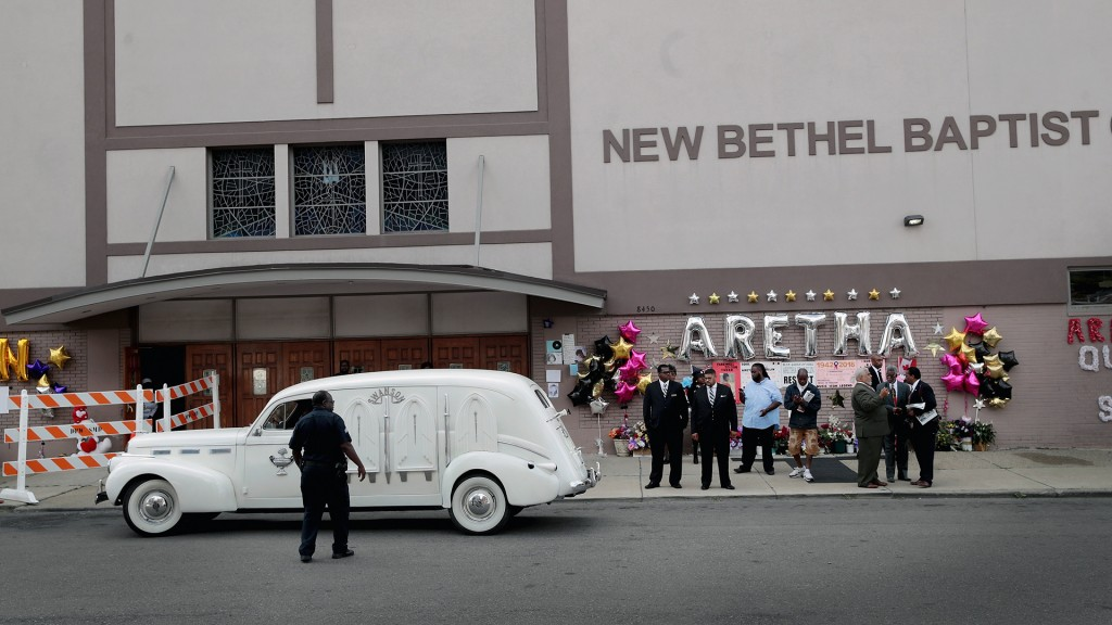 Aretha Franklin comes home to New Bethel Baptist Church