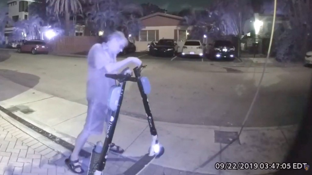 Florida man arrested for cutting brake lines on electric scooters