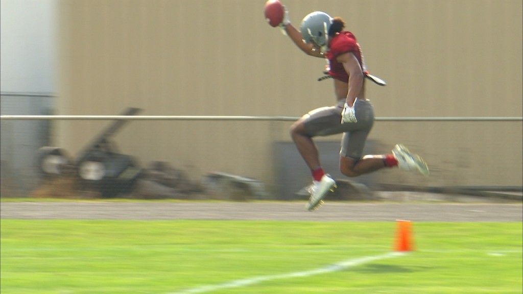 Cougars expect big things from big, fast, deep receiving group