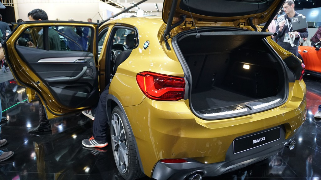 BMW's smallest SUV bows in Detroit
