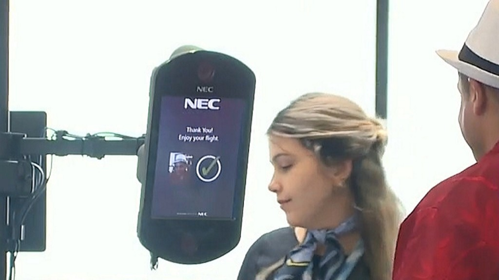 Tampa International Airport tests biometric face scanners