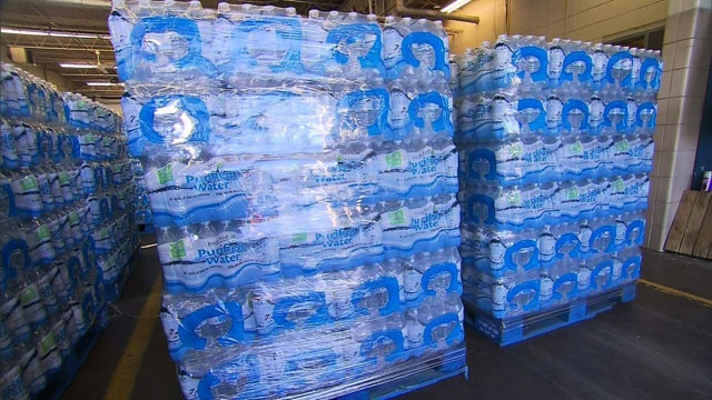 20,000 pallets of water meant for hurricane victims found unused in Puerto Rico