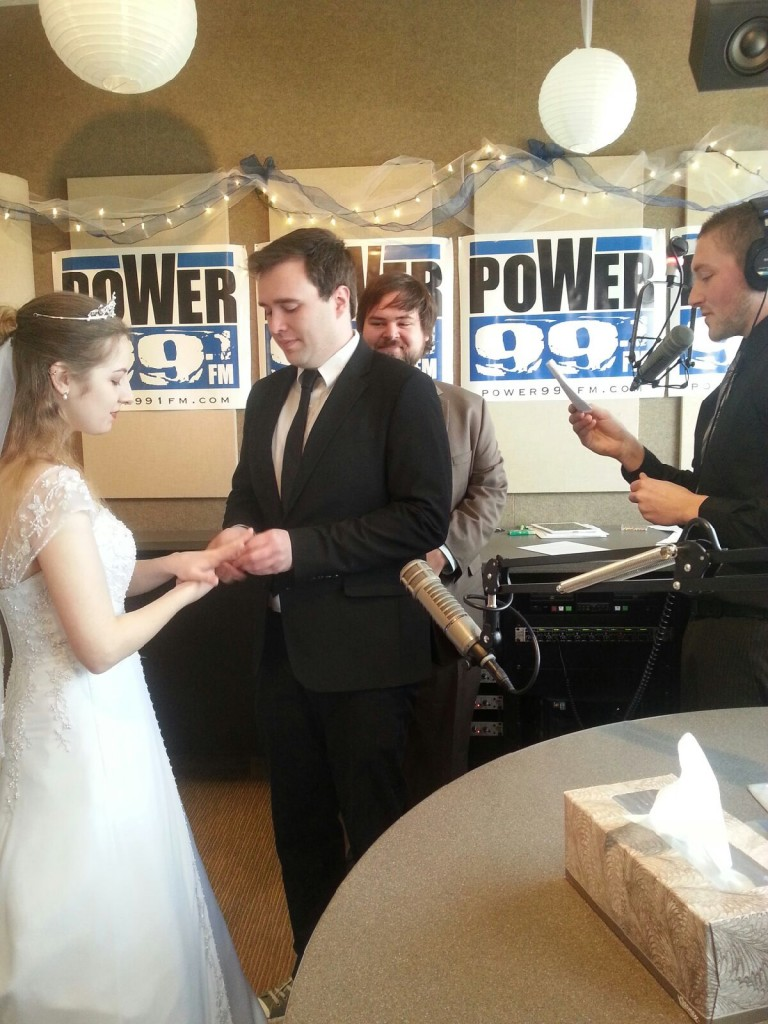 Couple Marries on Radio This Morning for Valentine's Day