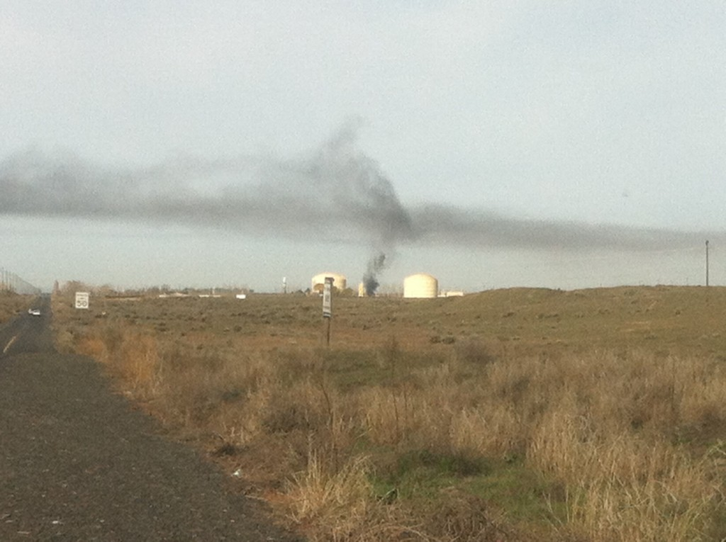 Natural Gas Plant Explosion Cause by Air in Tank