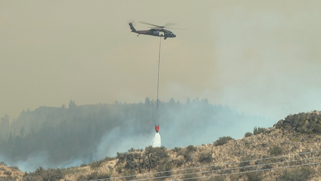 Firefighters Make Progress on Snag Canyon and S. Cle Elum Ridge Fires