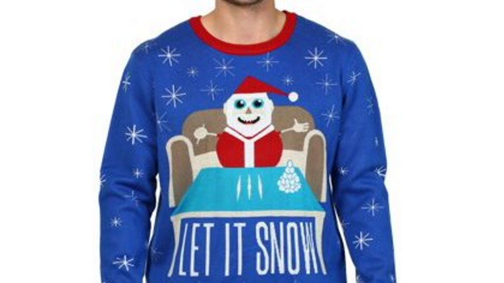 Walmart apologizes for Christmas sweater with apparent drug reference