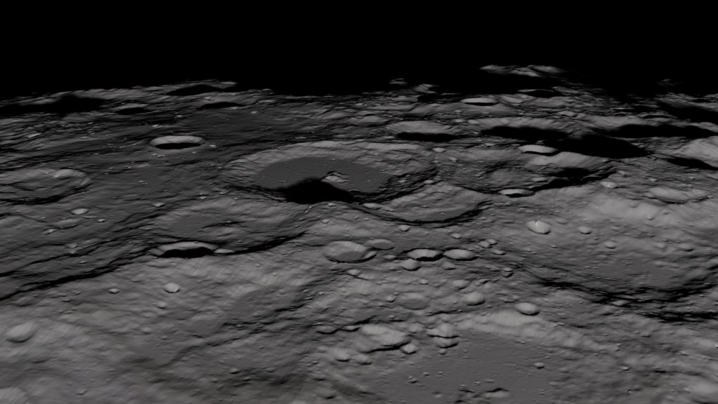 Water at moon's south pole may be more recent, study says
