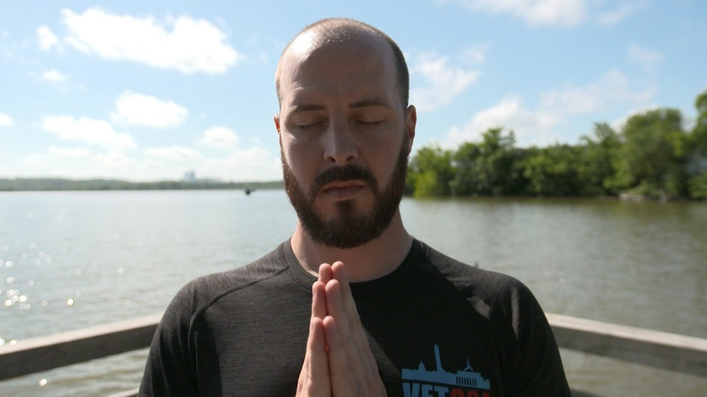 Contemplating suicide, this Marine turned to yoga to save his life