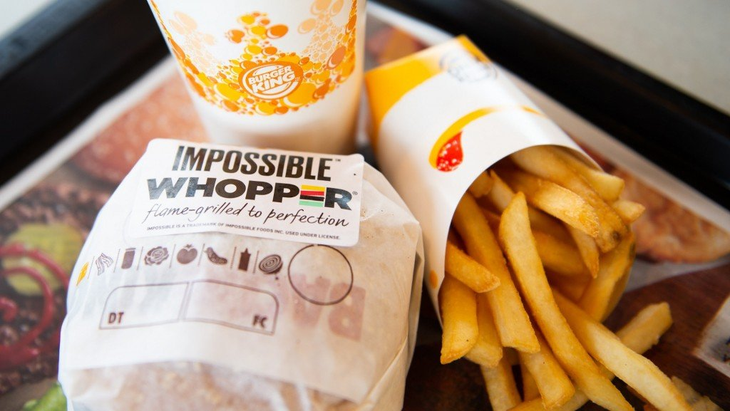 Impossible Whoppers huge hit at Burger King
