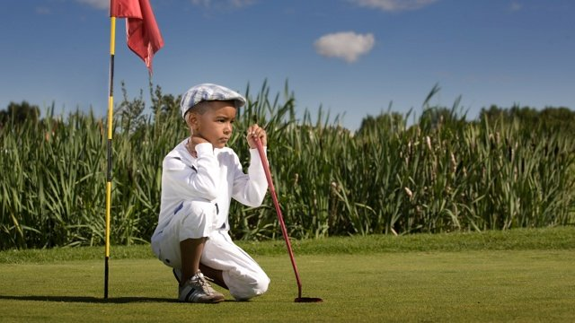 Keep your kids safe on the golf course