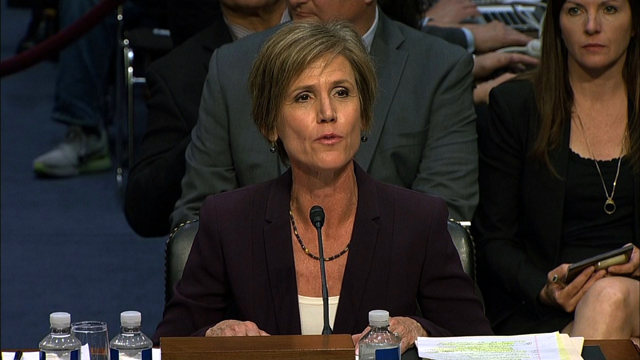 FBI Director nominee Christopher Wray once recommended Sally Yates to DOJ