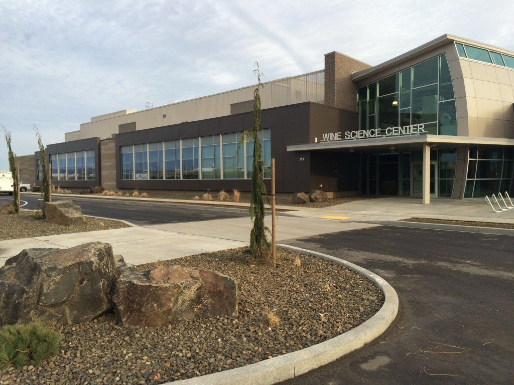 Construction Completed at WSU TC Wine Science Center