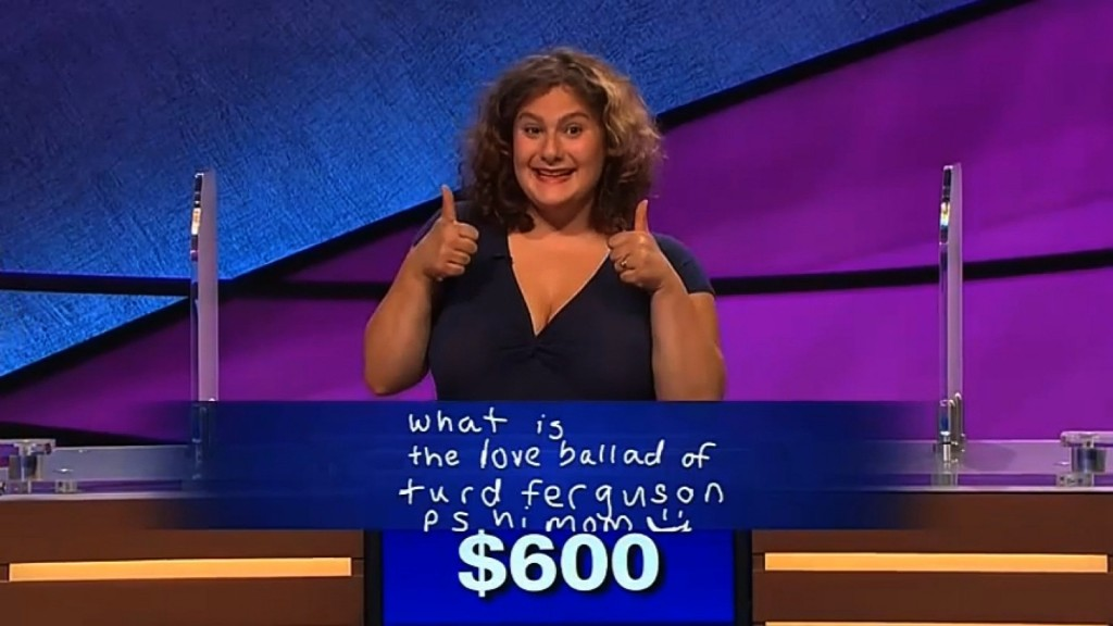 'Turd Ferguson' makes it to real 'Jeopardy'