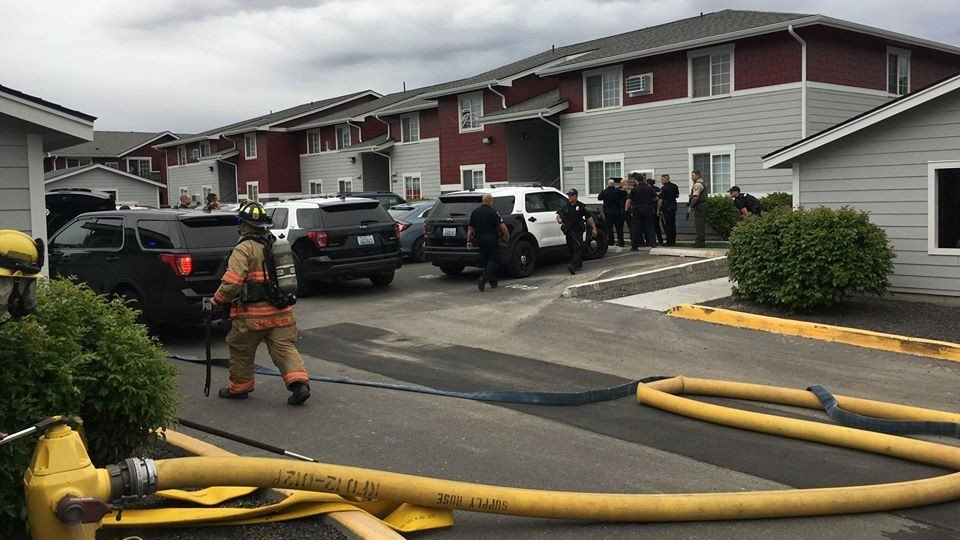 Kennewick Assault and arson