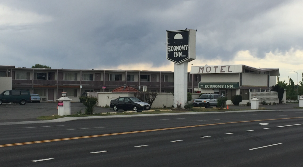 Man charged with stabbing at Economy Inn