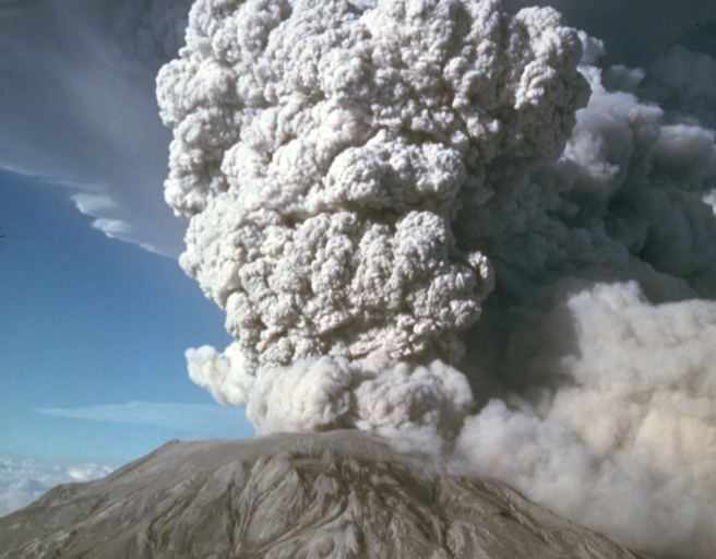 Mt St Helens eruptions 40th anniversary