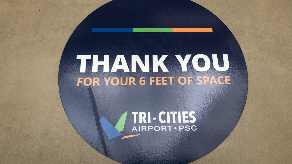Tri-Cities Airport adds social distancing measures