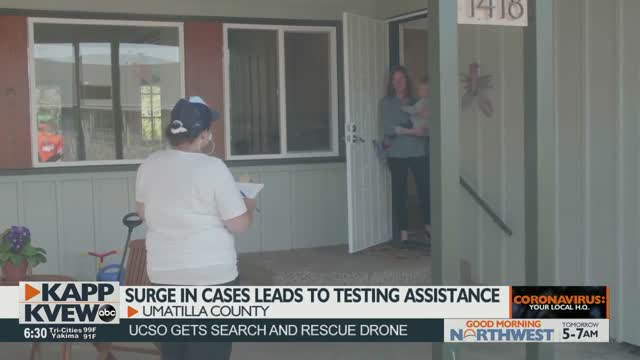 Door To Door Testing In Hermiston As Covid 19 Cases Surge