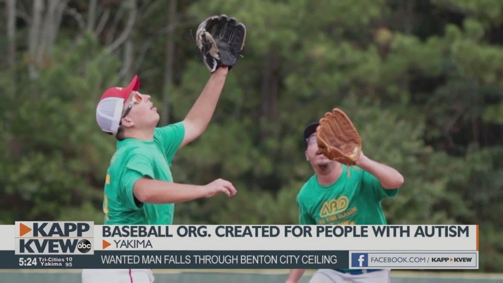 Alternative Baseball Organization For People With Autism Comes To Yakima