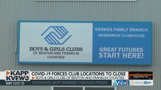 Boys & Girls Clubs Locations Temporarily Close Due To Covid 19 Cases In Children