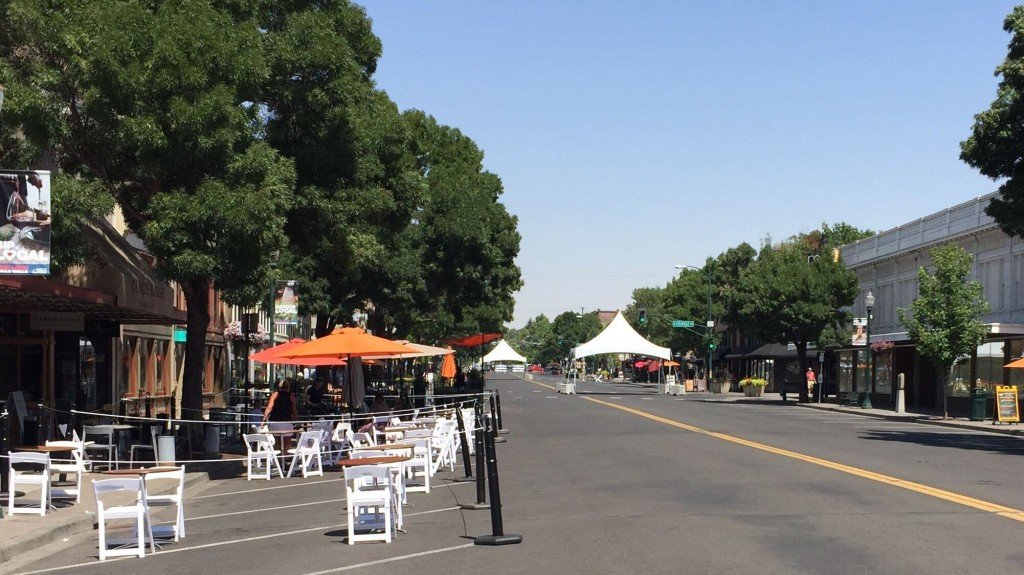 Walla Walla adds outdoor seating along Main St