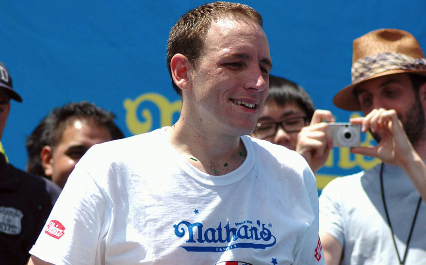Joey Chestnut wins hot dog eating contest once again