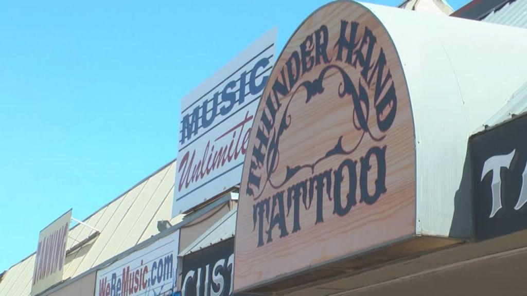 Storefront of Thunderhand Tattoo
