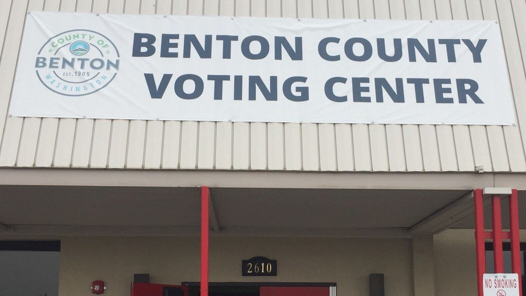 Benton County Voting Center Open