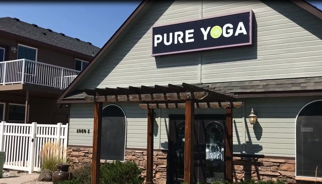 Pure Yoga Former Location in Richland