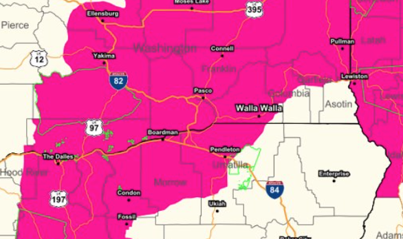 Red Flag Warning in effect 08-29-2020