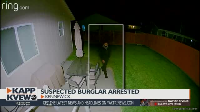 Man Suspected Of Breaking Into Kennewick Homes Arrested