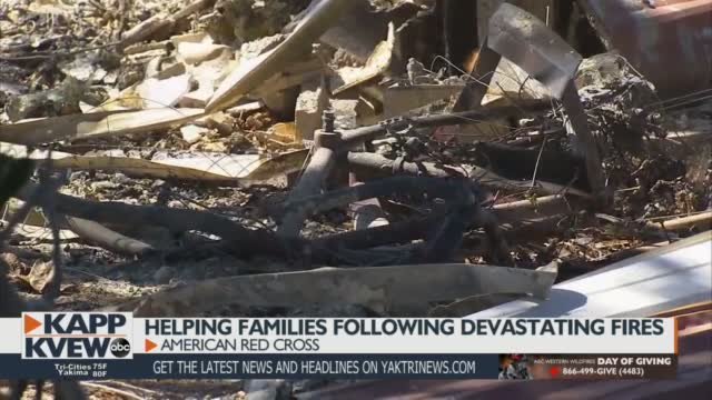 Local Companies Assist American Red Cross In Wildfire Recovery Efforts