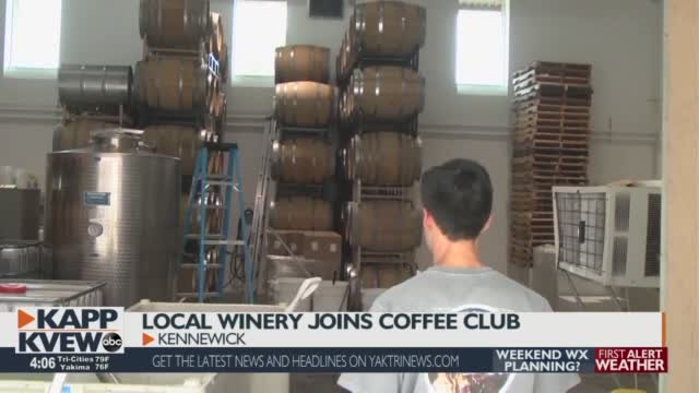 Local Winery Joins Coffee Club