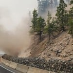 A Landslide Coming Off Of The Cold Creek Fire Adjacent To Hwy 12 On 9162020 Credit Eric Kiehn